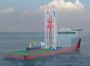 宝石机械告成中标陆地综合地质查询会见船地质钻探系统项目