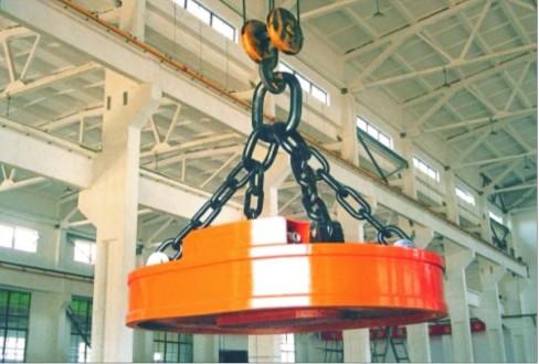 杭州电磁吸盘13868182575_起重电磁铁_起重吊具_供应