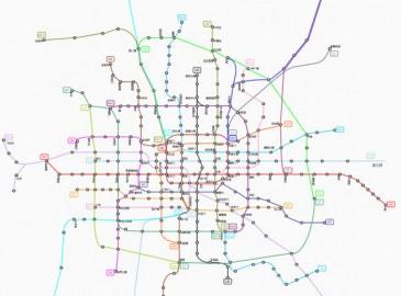北京地铁2020年规划图公布 房山北延线有望开工