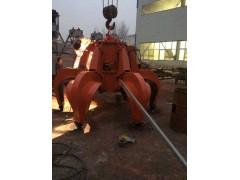 六瓣电动液压抓斗专业优质生产厂家张丙强15903013444
