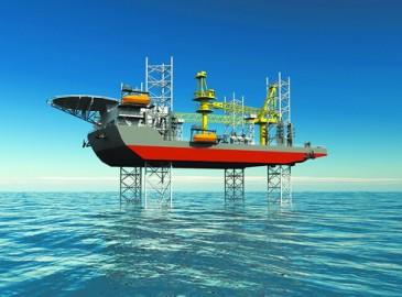 全球首制350英尺自升式平台船在厦船重工开工建造