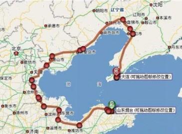渤海海峡跨海通道怎么建?方案出炉铁总牵头投资超两千亿