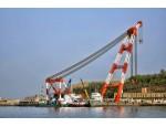 江苏港口浮式起重机