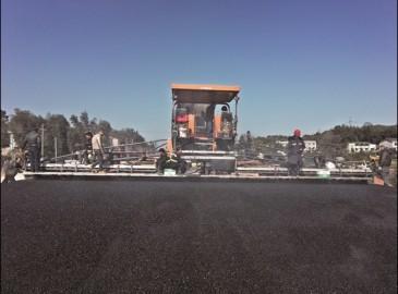 中联重科摊铺机助力长沙芙蓉北路项目圆满完工