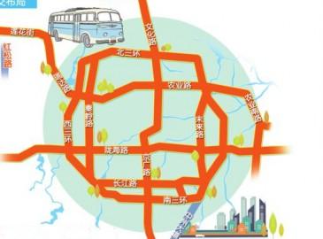 郑州公示公交专用道建设规划 文化路、二七路拟建BRT