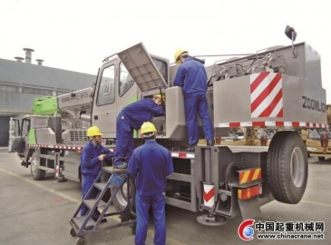 中联重科工程起重机公司QCC持续创新 稳步提升产品质量