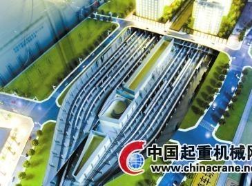 成都建亚洲最大地铁停车场 平面面积可抵13个足球场