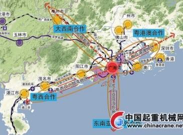国务院相关文件明确提出:支持广东与澳门共建江门大广海湾经济区