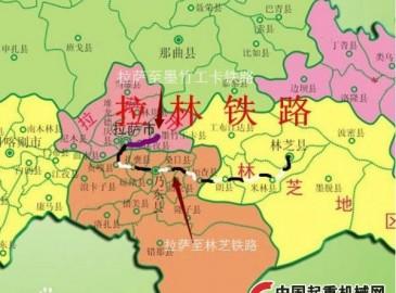 西藏籌建第四條鐵路 拉薩到墨竹工卡鐵路有望年底開工