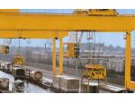 河南省豫奥重型起重机有限公司 名称:供应优质装卸桥联系人:销售部电话:葫芦销售0373-8619166