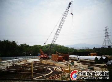 德基机械DG2000D沥青混合料搅拌设备入驻中国香港
