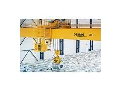 德马格用于钢铁搬运的特种起重机:宋女士15560144888