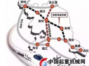 2016年中国铁路重点工程项目建设情况汇总一览(中篇)