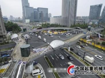 杭州树形天桥亮相 新设计改变方方正正布局