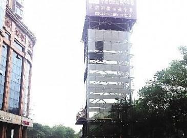 天桥起重助力株洲建设多个地面立体停车场
