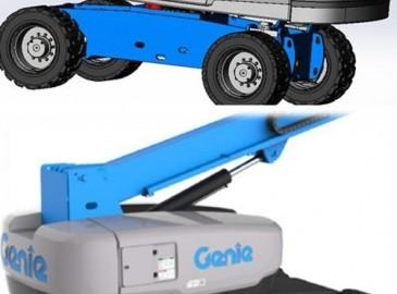 吉尼:全新设计语言 Genie®S-80自行式直臂型高空作业平台下线
