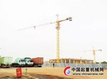 徐工塔机力挺非洲马里共和国建设