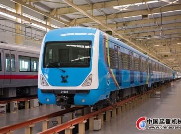 我国自主生产城铁车辆首次出口非洲