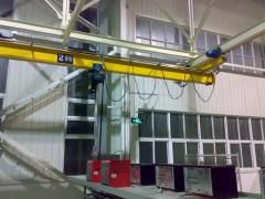 厦门专业生产LX型悬挂起重机