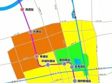 上海轨道交通5号线将南延伸至奉贤南桥 改扩建工程已启动