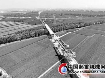 张呼客运专线河北段工程建设稳步推进