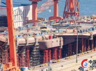 韩媒:中国航母建造进度超预期 战力比肩英国新航母