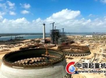 中国电力承建卡西姆港燃煤电站项目已现壮阔面貌