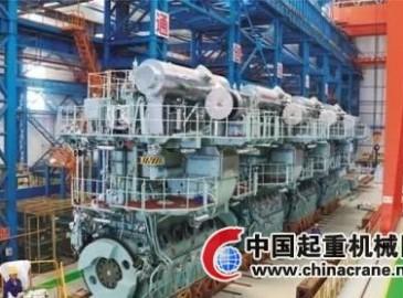宜昌船柴签获马尾造船4台柴油机合同