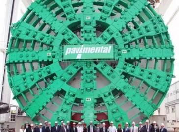 欧洲最大土压平衡盾构机将掘进意大利Santa Lucia隧道
