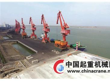 天津港大港港区新建通用号、8号泊位主体完工 年底可投入使用