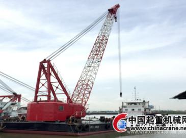 微特打捞船起重量限制器配套东盛船厂