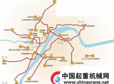 武漢軌道交通第四期規劃發布 9年內將新建14條地鐵線路