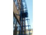 烟台龙口升降搬运设备导轨式液压货梯安装维修