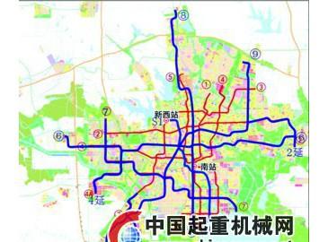 合肥第三輪軌道交通建設規劃新建8條線路 后期存在變化可能