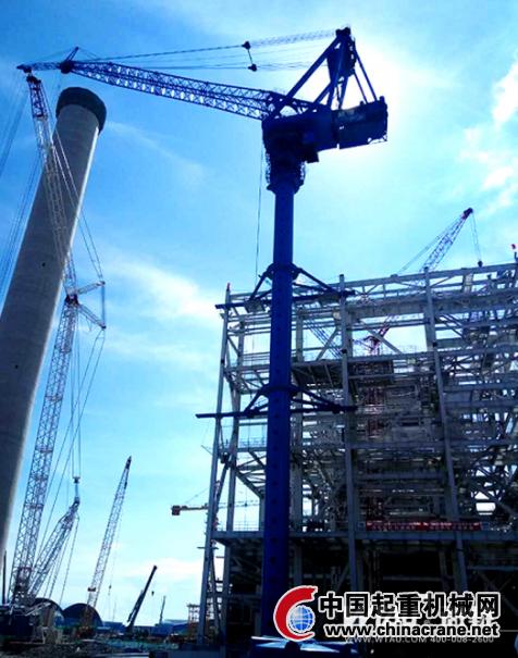 微特塔吊安全监控系统助力中越合作电力项目