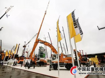 利勃海爾機械設備亮相Bauma China 2016
