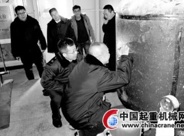 北京石景山区质监局对在用大型特种设备进行检查