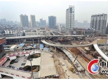 合肥一大批重点道路工程集中开工 滨湖新区将新建六座人行天桥