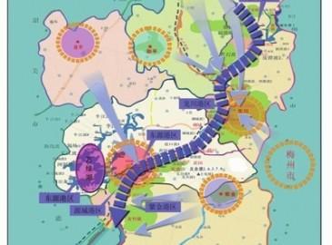 河源港总体规划:建一个港口码头四个港区