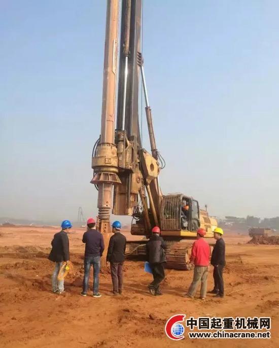 中车北边京重工TR280DH旋剜钻机助建赣州黄金机场扩建项目