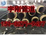 聚氨酯发泡保温钢管价格/热电厂聚氨酯保温钢管厂家