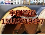 库存国标聚氨酯保温钢管/外滑动钢套钢保温钢管价格