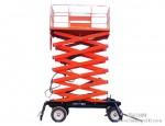 四轮移动式升降式升降货梯销售-法兰克18749117777