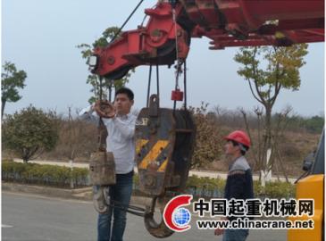 中國水電四局武漢地鐵11號線二標項目部開展起重吊裝專項檢查