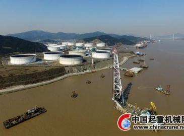 舟山實華公司原油碼頭二期工程今年將建成