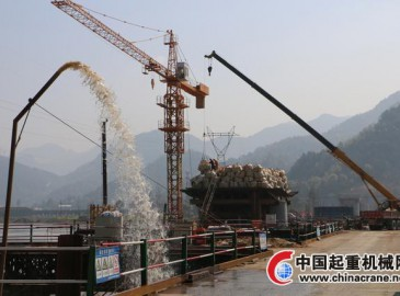 温州乐清湾港区铁路支线工程近一半桥梁建设已完成