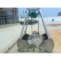重庆泸州酒厂专用起重机不锈钢抓斗  18581058258