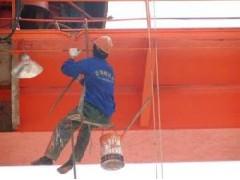 宁波专业龙门吊除锈刷漆防腐13523255469
