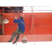 宁波专业行车行吊刷油漆13523255469