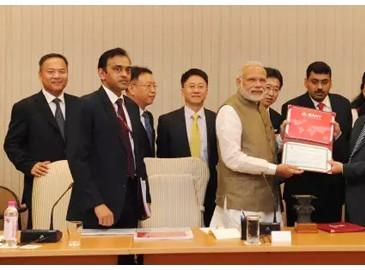 """三一印度销售近10亿 """"印度制造""""已全面深入周边五国"""